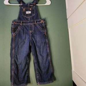 OSHKOSH B'gosh Girl Fleece Overalls Toddler 2T